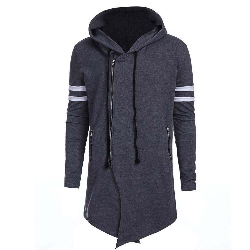 2XL Fashion Brand Hoodies Men Sweatshirt Male Zipper Hooded Jacket Casual Sportswear Moleton Masculino Outwear
