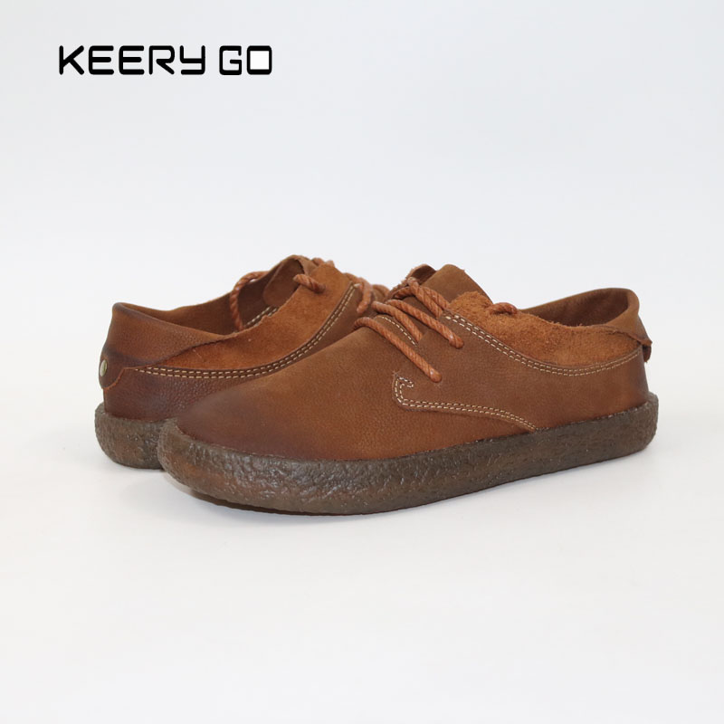 The first layer of leather shoes and a pedal comfort all-match full leather comfortable foot Leather bottomed women shoes the first layer of leather shoes and a pedal comfort all match full leather comfortable foot leather bottomed women shoes