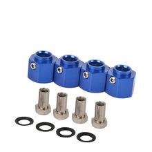 4 шт 8 мм/10 мм/12 мм trx4 адаптер шестигранные ступицы колеса