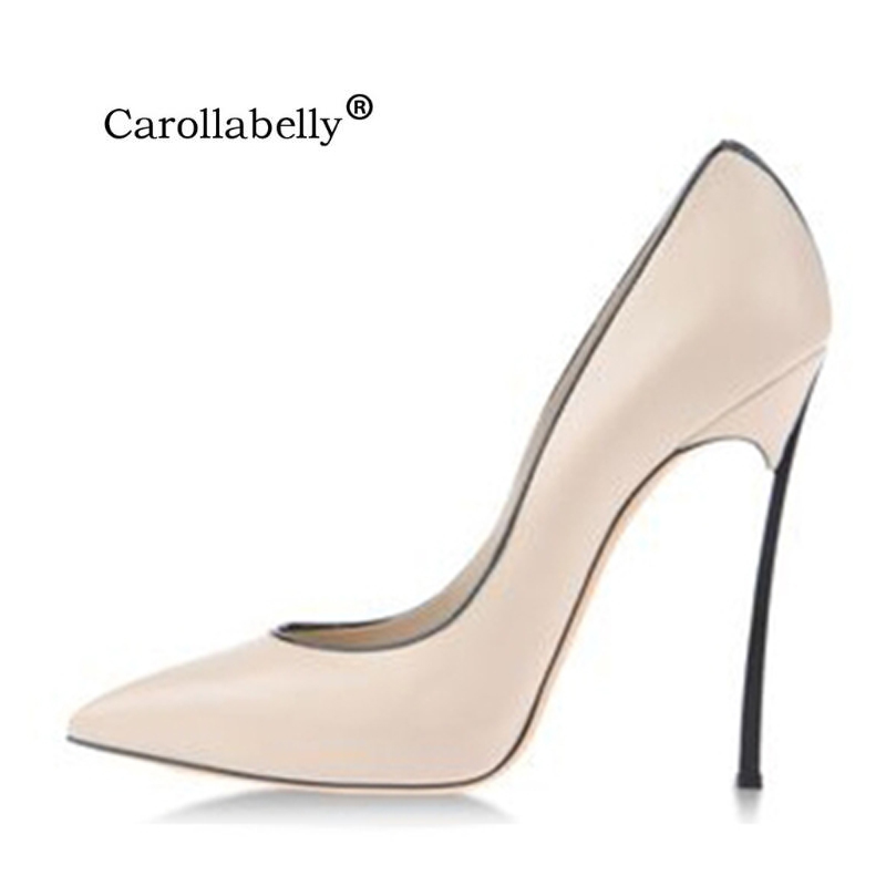 High Quality Sexy Shoes Women Pumps 8cm Or 10cm Or 12cm High Heels Wedding Party Shoes PU Or Suede Or Lace Upper Big Size 33-43