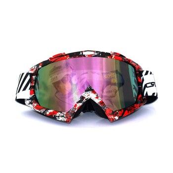 Gafas de moto evomosa, gafas de sol para motociclismo, moto de cross, Moto todoterreno, gafas de sol clásicas a prueba de viento, gafas cascos de carretera MX para esquiar