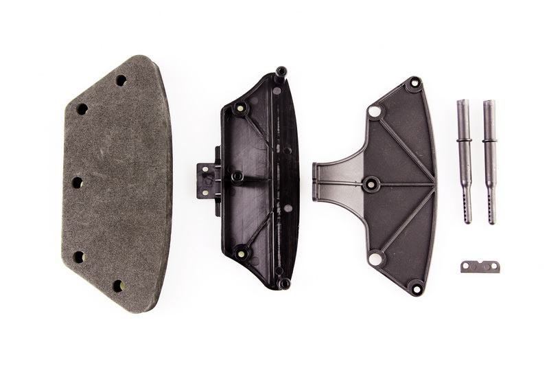LC Гонки Ралли Бампер Комплект черный emb-ВКР EP 1:14 Р/У машинки 4WD на бездорожье # l6040