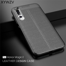 For Cover Huawei Magic 2 Case Luxury Armor Rubber Phone Soft Shell Fundas