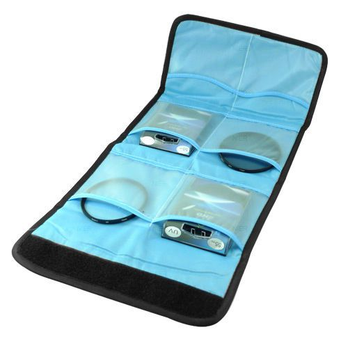 Top Deals Filter bag Case for 6 filters for NIKON CANON Camera UV CPL FLD 52mm 55mm 58mm 67mm 72mm