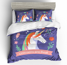 unicorn 3D bedding set Duvet Covers Pillowcases comforter sets bedclothes bed linen Children room decor