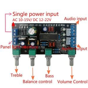 Image 3 - GHXAMP ハイファイ UPC1892 プリアンプ基板の Diy キットフロントトーン制御ボード 2.0 バランスカーオーディオ修正 1 pc
