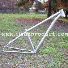 """Титановая 2"""" велосипедная рама MTB рама для 29er колеса"""