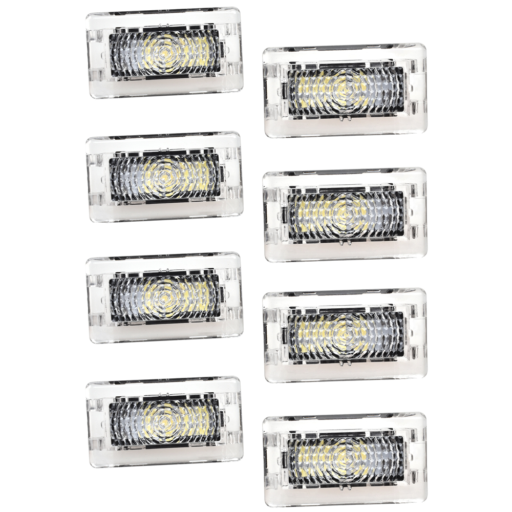 8pcs LED Light Bulbs Kit For Tesla Model 3 Model S Model X Bright Easy Plug Replacement LED Interior Lighting Indoor Trunk Light in Signal Lamp from Automobiles Motorcycles