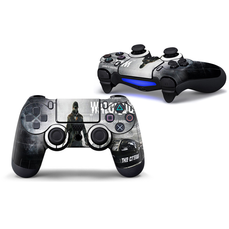 Original Games Controller Tags Fashion Kand Skins Stickers Kit Tags for Playstation 4 PS4 Pro Game Play T-PS4-CT-007