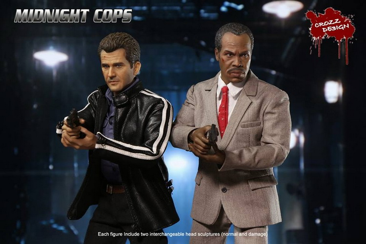 1:6 Super flexible figure Lethal Weapon Mel Columcille Gerard Gibson MARTIN or ROGER 12