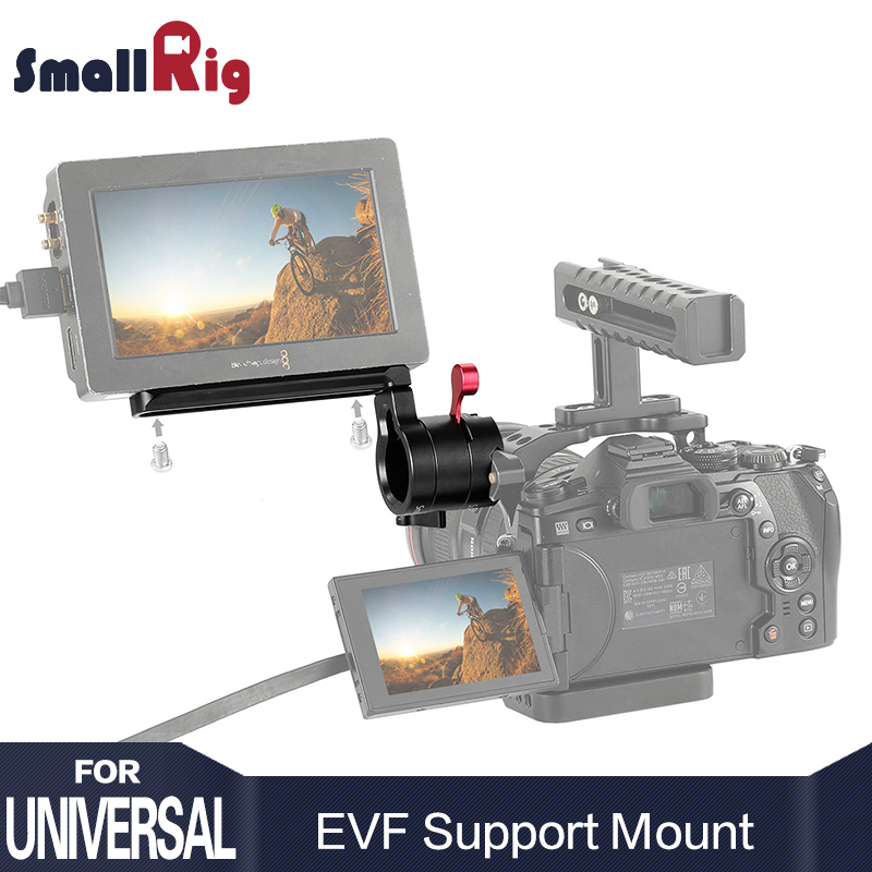 SmallRig Quick Release Clamp Adjustable EVF Mount with NATO Rail DSLR Camera Monitor Holder 2113
