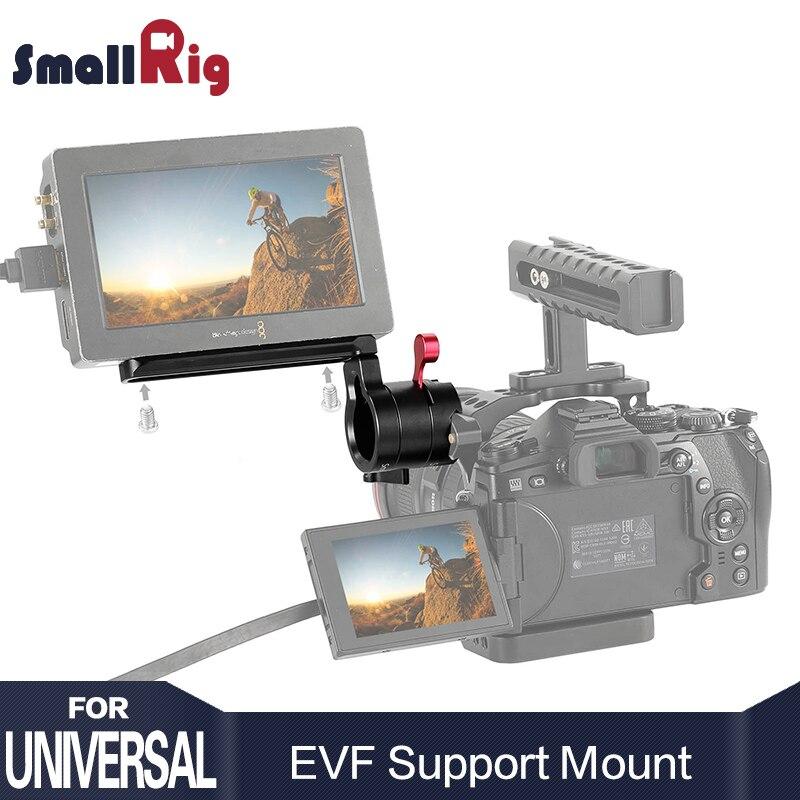 EVF SmallRig Braçadeira de Liberação Rápida Ajustável Rail DSLR Camera Monitor de Suporte de Montagem com a NATO 2113