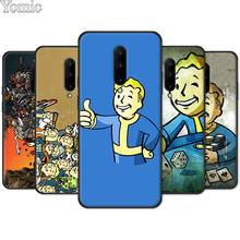 game Fallout Soft TPU Cover Shell for Oneplus 7 7 Pro 6 6T 5T Black Case for Oneplus 7 7Pro Silicone Phone Case