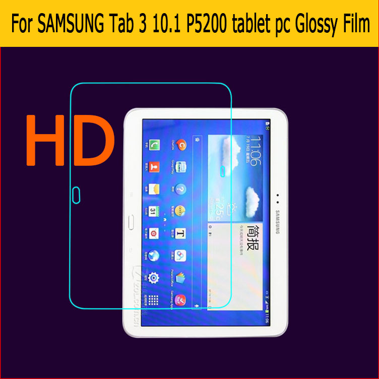 Apprehensive Premium Hd Lcd Clear Glossy Screen Protector Film For Samsung Galaxy Tab 3 10.1 P5200 Tablet Pc Front Screen Protection Films