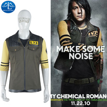 New Mens Jacket My Chemical Romance Cosplay Halloween Carnival Costume For Men Custom Made