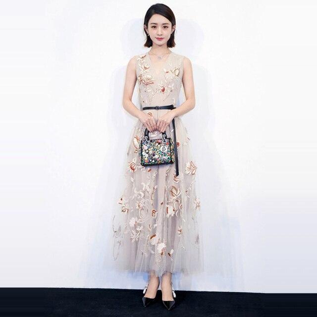 Walk fashion dress