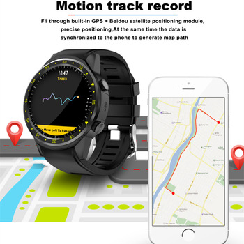 GPS Sport Smartwatch F1 Camera Support Stopwatch Bluetooth Smart watch SIM Card Wristwatch for Android IOS Phone G05 2