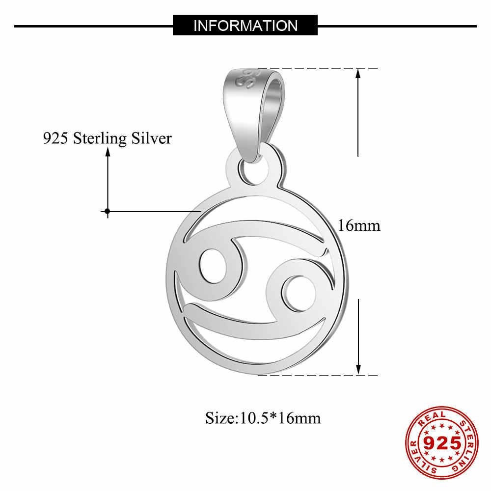 100% 925 Sterling Silver Charmจี้Vnistar HoroscopeไอคอนCharmsสำหรับผู้หญิงสร้อยคอจี้ขายส่ง