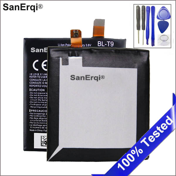 SanErqi <font><b>BL</b></font>-<font><b>T9</b></font> <font><b>Battery</b></font> Use for Google 5 <font><b>Battery</b></font> BLT9 D820 D821 <font><b>BL</b></font> <font><b>T9</b></font> 2300mAh <font><b>Battery</b></font> for LG Google Nexus 5 <font><b>Battery</b></font> With Tools image