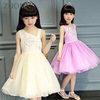 여자 아기 드레스 아이 투투 크로 셰 레이스 드레스 민소매 서스펜더 공주 드레스 웨딩 어린이 옷 GH342