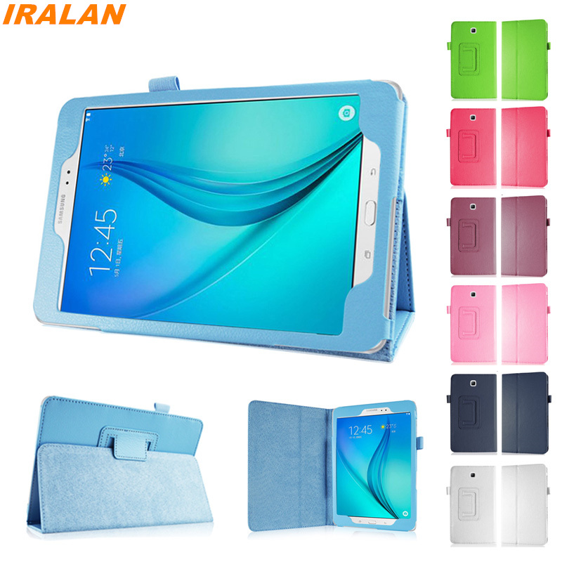 2017 New Stand fashion PU Leather Cover For Samsung Galaxy Tab A 8.0 T350 T355 P350 Tablet Leather Case+Stylus Pen+Screen Film luxury tablet case cover for samsung galaxy tab a 8 0 t350 t355 sm t355 pu leather flip case wallet card stand cover with holder