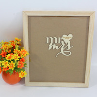 Personalized Drop Top GuestBook Wedding Guest Signs Book Wooden Hearts Laser Engrave Name Wedding Guest Book