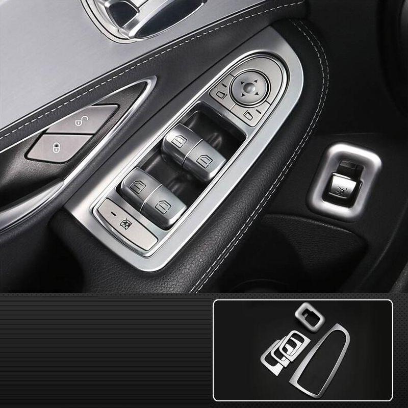 Voiture Auto système de contrôle décoratif mode intérieure moulures pièces décoration accessoires 18 19 pour Mercedes Benz GLC classe
