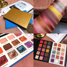 15 Color Eyeshadow Palette Smooth Glitter Shimmer Matte Powder Makeup Pallete Nude Pigment Cosmetic