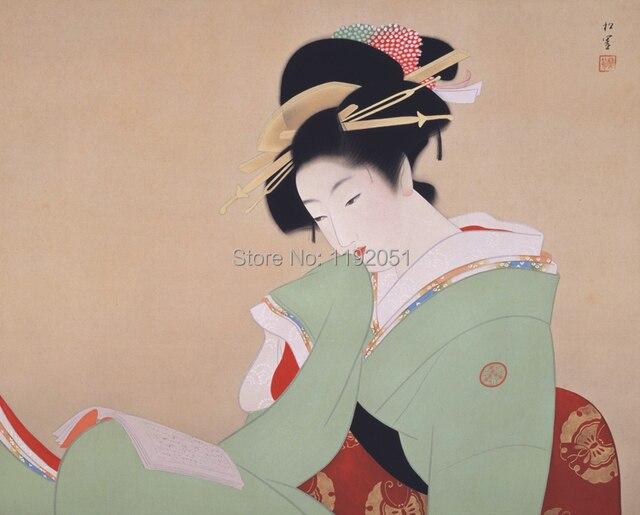 Art geisha japanese