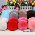 On Sale Beautiful Winter Fur colorful Ear Muffs Warmer Earmuffs Faux Fashion Ear Earlap Hot Slae Women's 9 Colors