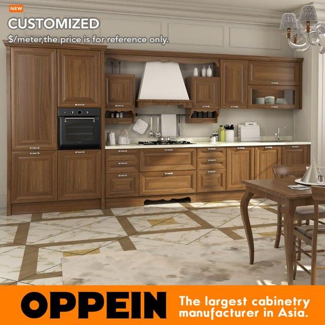 € 361.93 |Muebles de cocina antiguos de OPPEIN con gabinetes de cocina de  PVC OP16 119 en Gabinetes de cocina de Mejoras para el hogar en ...