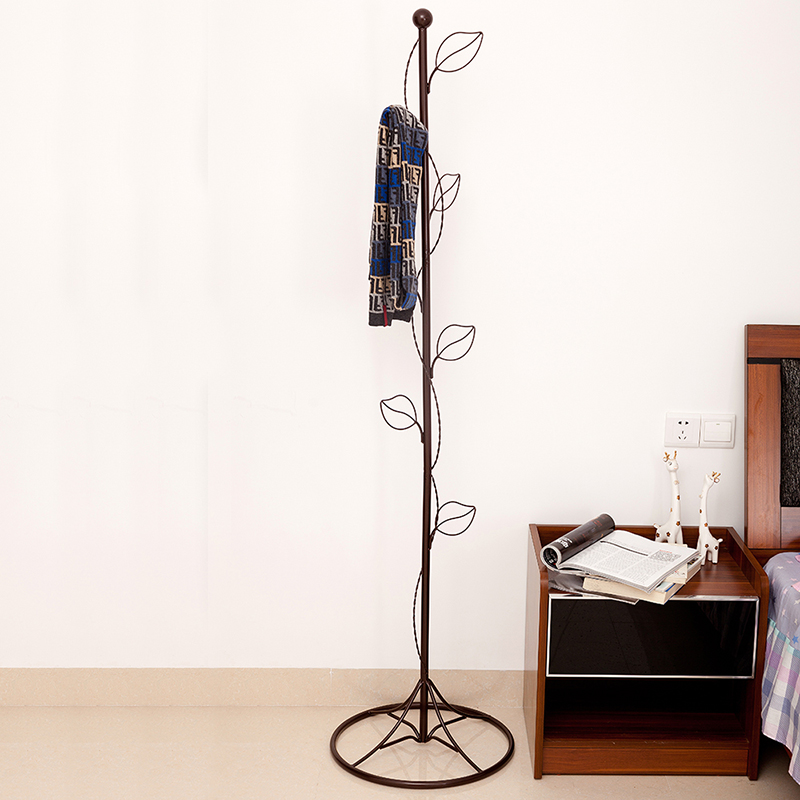 Metal Coat Rack Tree Style Bedroom Floor Racks, Hangers Creative Clothes Rack odetina 2017 spring elegant driving shoes loafers women fashion pointed toe flats slip on boat shoes grandma casual flat shoes