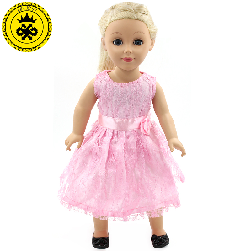 new american girl doll clothes pink lace ra ra skirt doll clothes lucky dress accessories for 18. Black Bedroom Furniture Sets. Home Design Ideas