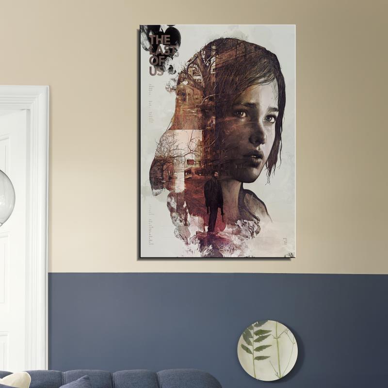 el ltimo de nosotros poster pared pintura hoja home arte decorativo cuadro en lienzo prints juego