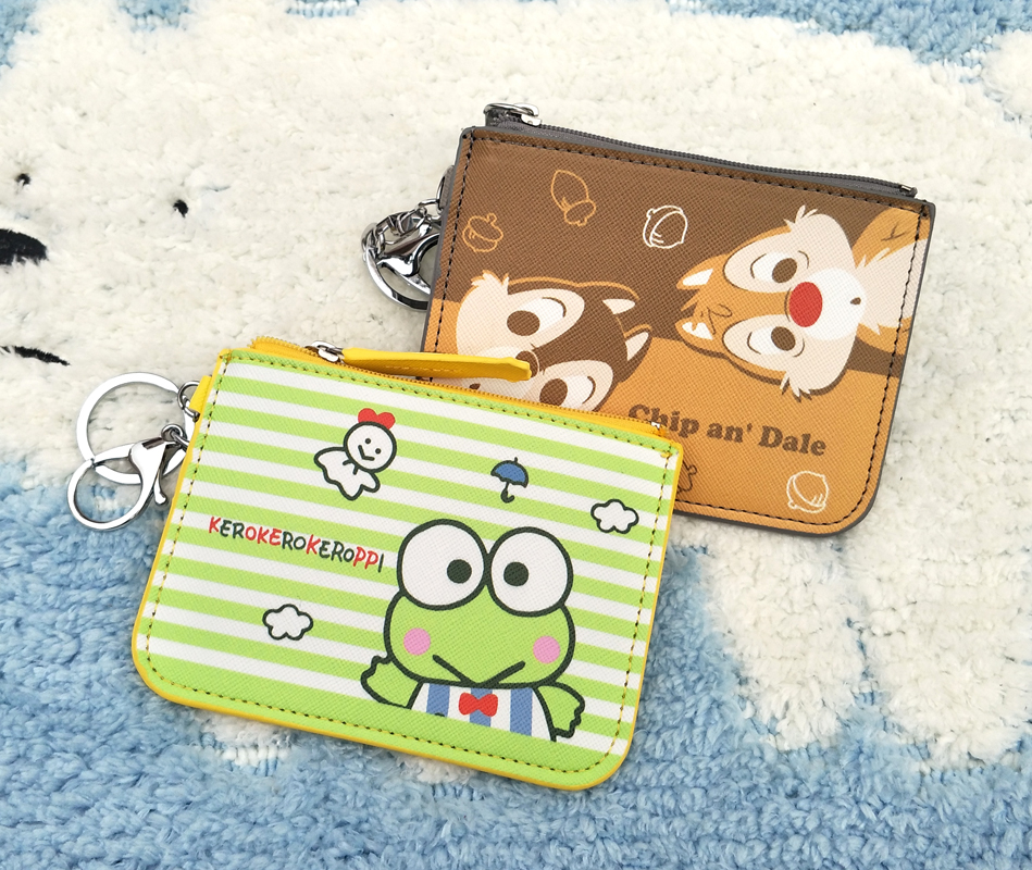 Have An Inquiring Mind Ivyye 1pcs Frog Chipmunk Anime Plush Card Holder Pu Cartoon Credit Id Bags Zipper Coin Bus Card Wallet Kid Girls Gifts New Pretty And Colorful Card & Id Holders Luggage & Bags