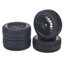 1/10 RC Car On-Road Tires w/ Foam Insert for HSP HPI TT01 1:10 RC Car Part (4pcs) цена в Москве и Питере