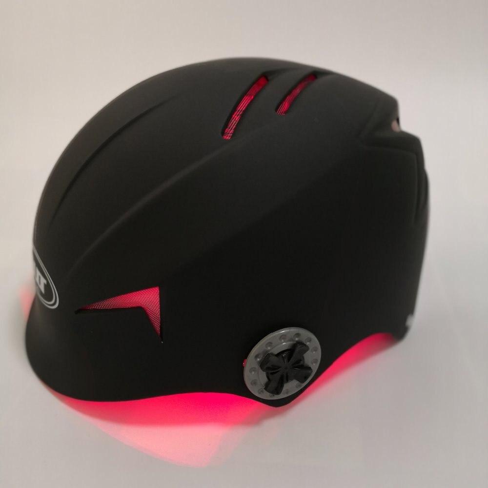 Heimgebrauch laser haarausfall maschine LLLT helm 68 diode kappe für haar nachwachsen