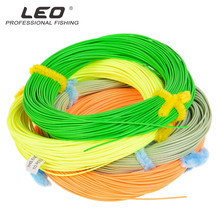 30M Fly Fishing Line 100FT Weight Ahead Floating Fly Traces WF 4/5/6/7/eight WT Nylon Fishing Line For Carp Fishing Pesca Four Colours