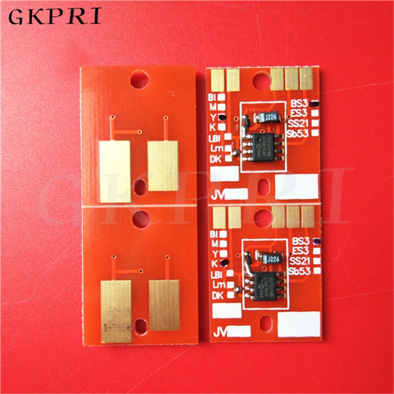 Eco solvent printer Mimaki JV33 JV5 JV3 CJV30 TS34 Permanent chip DX5 cartridge chip SS21 SB51