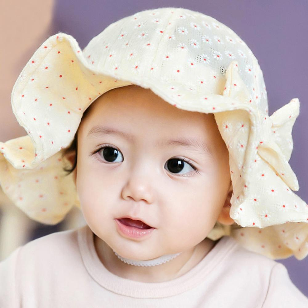 Cotton Blends Baby Hat Toddler Infant Sun Cap Summer ...