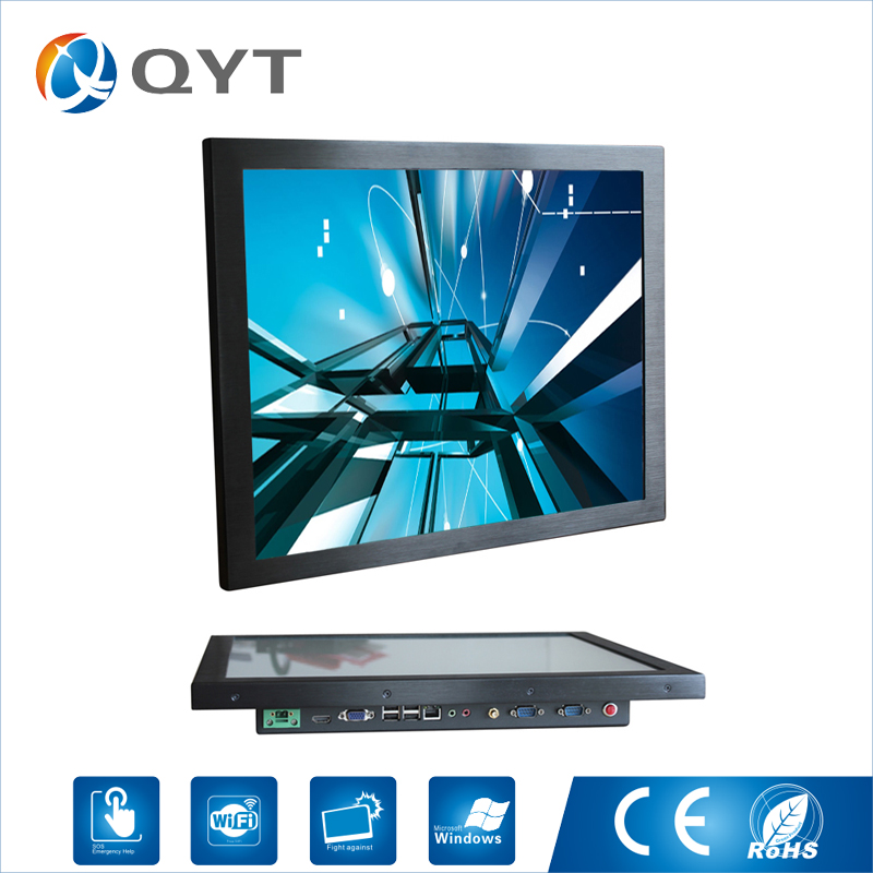 Resistance Touch 19″ 4GB DDR3 Touch Industrial Fanless lcd aio all in one pc