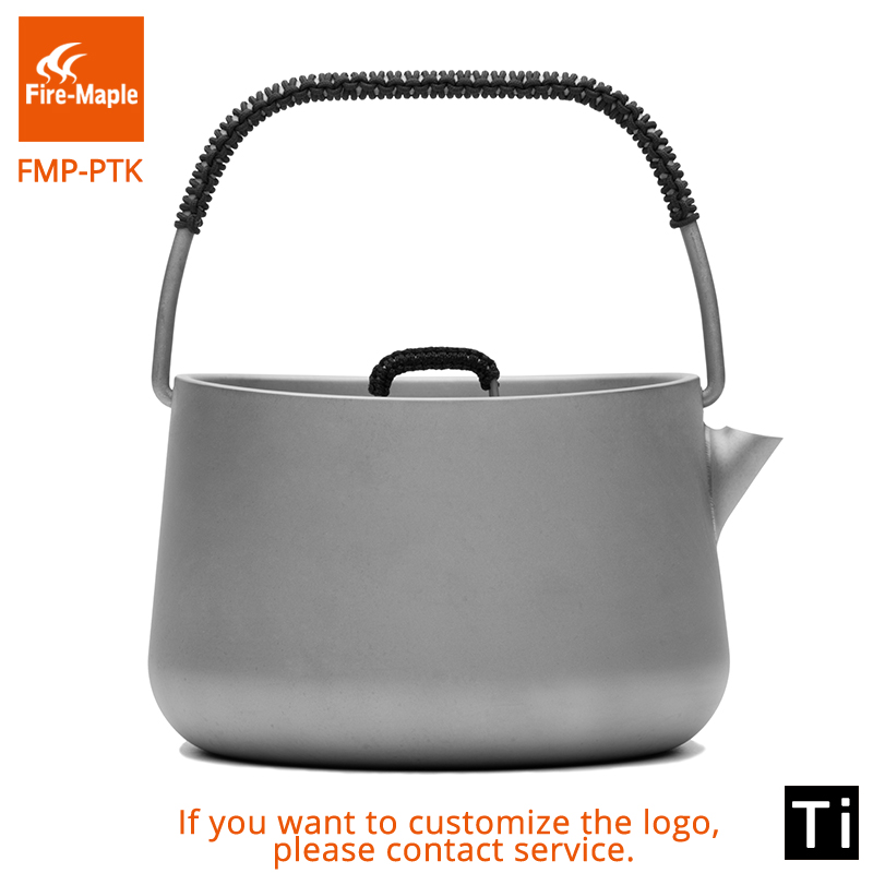 Fire Maple Panna Series Titanium Outdoor Camping Picnic Coffee Tea Pot 1L Teapot Kettle Ultra Light 185g alessandro birutti сумка