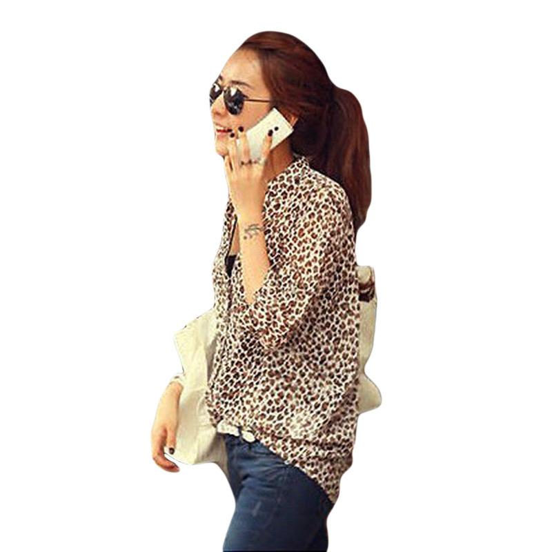 New Spring font b Women s b font Stand Collar Camisas Female Loose Roll Sleeve Office