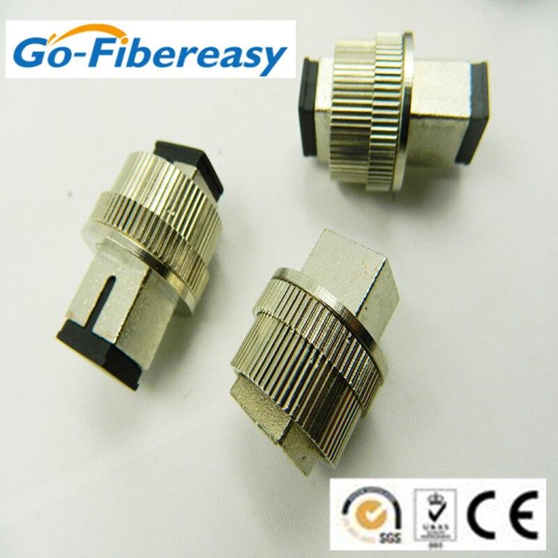 Good Quality 5pieces/lot catv Attenuator SC/UPC Adjustable Optical Fiber Attenuator 1-30dB