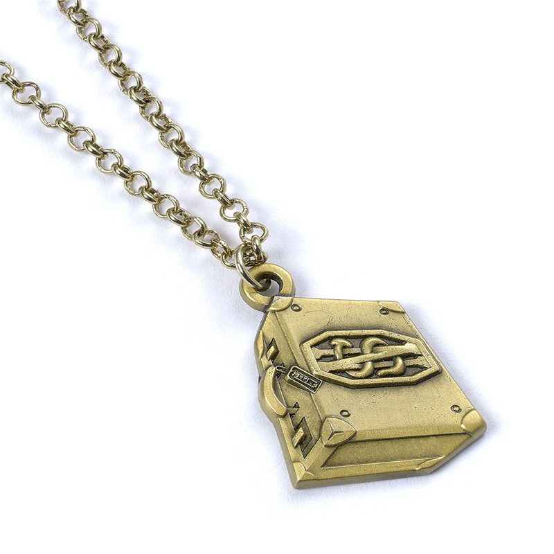 2017 famous movie fantastic beasts suitcase necklaces pendants 2017 famous movie fantastic beasts suitcase necklaces pendants high quality chain antique jewelry pendant for souvenirs in pendant necklaces from jewelry aloadofball Image collections