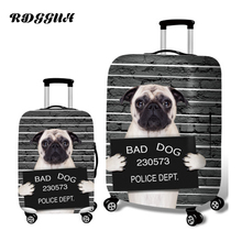 RDGGUH Mode Animal Imprimer Bagages Animal Chien Valise 18-28 Pouces Valise Bagages Valise