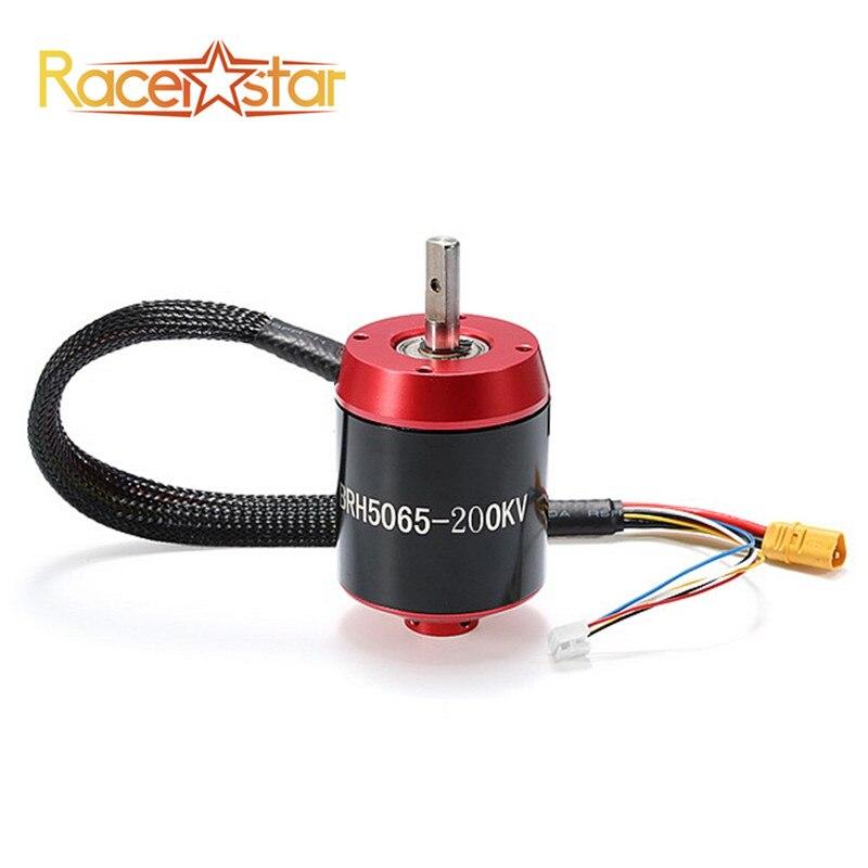 Racerstar 5065 brh5065 200kv 6-12 s бесщеточный Двигатель электрический RC Двигатель с Шестерни для балансировки скутер