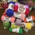 160x50 cm Nueva Primavera Otoño Invierno Niños Bufanda Bufanda del Color Sólido Del Niño Del Bebé Niños Niñas Scaves Colores Del Caramelo
