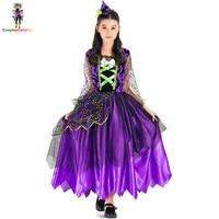 ילד סגול ליל כל הקדושים שמלות גודל 110-140 ס