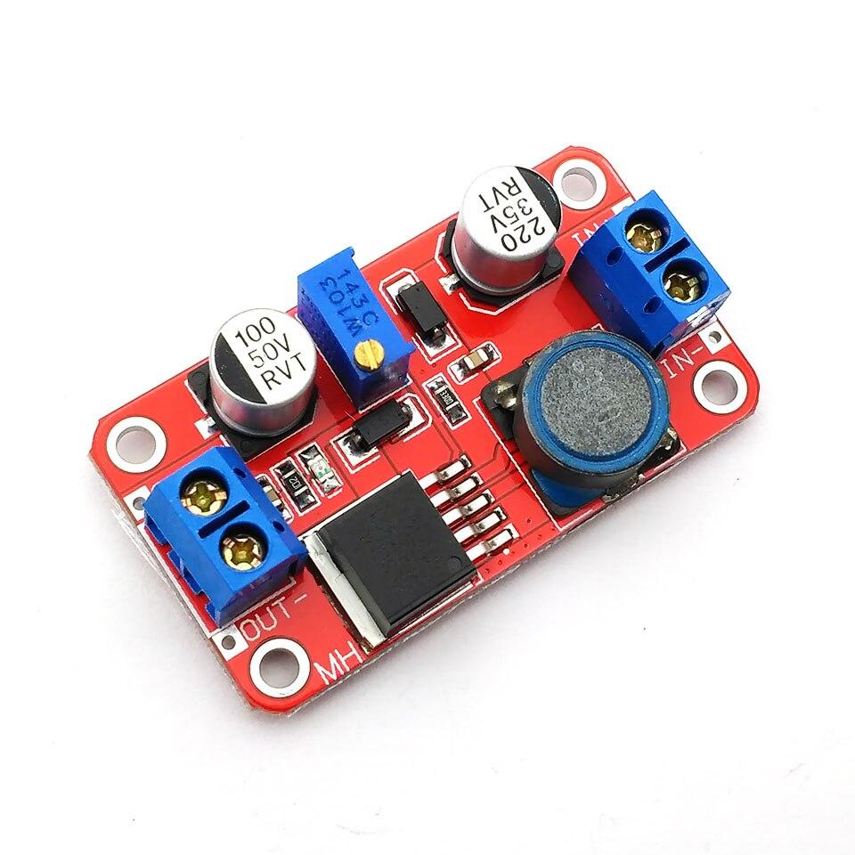 DC DC boost power supply module XL6019 voltage stabilized power supply module output 5V/12V/24V adjustable